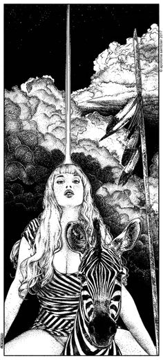 Apollonia Saintclair 706 - 20170108 Le mystère Mang (The Mang mystery) Once again inspired by a picture of the wonderful Missanthrope Jones