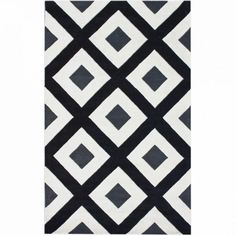Pottery Barn Marlo Bath Rug  Bath Rugs & Vanities  Pinterest Fascinating Black And White Bathroom Rugs Decorating Inspiration
