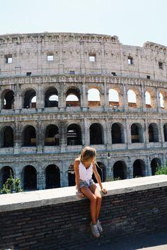 Rome, Italy @paulamekis