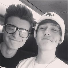 chris and crawford collins.....crawford's dimples <3 :D