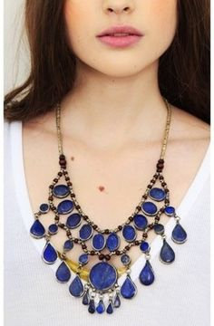 Ara Lapis Necklace. I HAVE THIS NECKLACE.