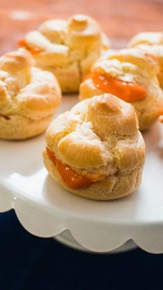 If you love the spiced sweetness of Thai iced tea, you'll love this tempting little cream puff.