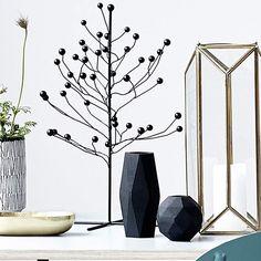 Vase Geometry Matt schwarz von house doctor IN LOVE <3