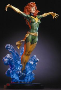 Phoenix mini-statue  Sculpted by: Based on original sculpture by Mark Newman    Release Date: May 2003  Edition Size: 3000