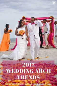 2017 Wedding ARCH trends! www.fabulousflorals.com The #1 source for wholesale DIY wedding flowers! #weddingarch #diyflowers #arch #ceremony #ceremonyarch