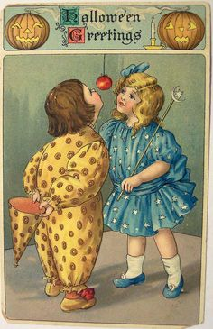 https://flic.kr/p/7xCKQJ   Vintage Halloween Postcard