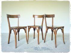 Chaise Bistrot Vintage Baumann Modèle 155