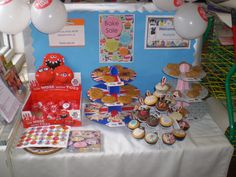 Our bake sale for Comic relief!