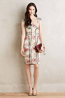 Bridesmaid dress idea: Anthropologie it's something different but all the colors you like