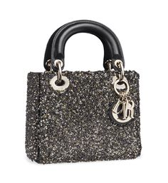 Trend: Neutral Opulence. Look: Dior Lady Dior small sequined embroidered lambskin bag.
