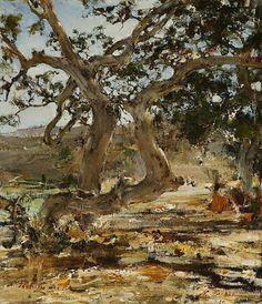 The (Sycamore) Tree - Nicolai Fechin