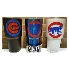 YETI Authentic Chicago Cubs Yeti Cup Mug 30 oz Rambler