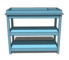 Ana White   Build a Simple Changing Table   Free and Easy DIY Project and Furniture Plans