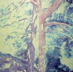 "Saatchi Art Artist Marek Hospodarsky; Painting, ""Her last place"" #art 31.5 H x 31.5 W $1000"