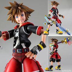 "AmiAmi [Character & Hobby Shop] | Play Arts Kai - Kingdom Hearts 3D: Dream Drop Distance ""Sora"" Action Figure(Preorder)"