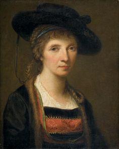 Autoportrait de Angelica Kauffmann