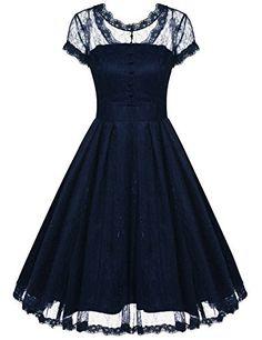 Gigileer Women's Dress A-line Dresses Scroop Neck Lace Sh... https://www.amazon.co.uk/dp/B01KSWONE8/ref=cm_sw_r_pi_dp_x_j6neybEE29T8J