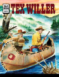 Tex Willer -lehti no 3/2014. #sarjakuva #sarjis #sarjakuvalehti #egmont