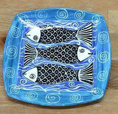 And here's a new 'resident' artist. The fish series