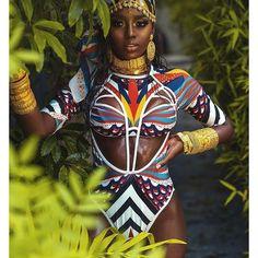 African Inspired Fashion, African Print Fashion, African Beauty, African Women, Miami Mode, Estilo Miami, Ankara Mode, African Swimwear, Moda Afro