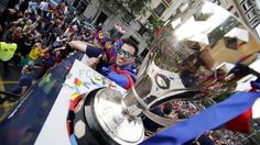La rúa de los campeones de Liga | FC Barcelona