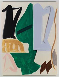 Patricia Treib, Hem, 2015, oil on canvas, 167.5 x 127 cm