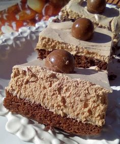 Greek Desserts, Sweets Cake, No Bake Cake, Cake Pops, Chocolate Cake, Sweet Recipes, Mousse, Sweet Tooth, Cheesecake