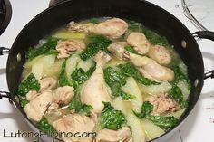Chicken Tinola Recipe - Filipino Recipies from Lutong Filipino