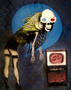 'Life's better in 3D by Jak Rapmund' 2010 finalist in Stencil Art Prize