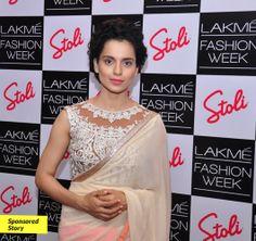 #blouse #sari Kangana Ranaut