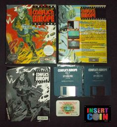 JUEGO ATARI ST  CONFLICT: EUROPE  -PSS-, NO TESTED