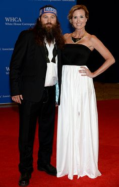Duck Dynasty's Willie and Korie Robertson at WHCD