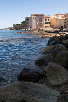 The Rocky Shore of St Tropez