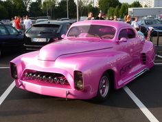 Classic Car Pink ☆ Girly Cars for Female Drivers! Love Pink Cars ♥ It's the dream car for every girl ALL THINGS PINK!