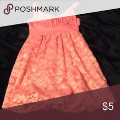 floral lace pink dress a summery pink dress with a flowery lace shirt that's perfect for a summer wedding! Forever 21 Dresses Midi