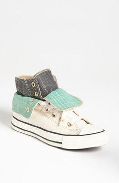 CONVERSE Chuck Taylor Two Fold Hi Womens Shoes