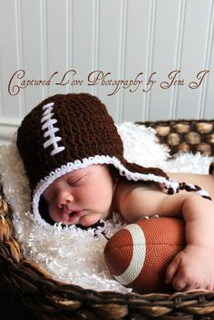 Even without little hat....just with football