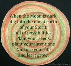 new moon intentions - Google Search