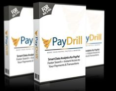 PayDrill Review  Get Smart Data Analytics For Paypal Faster Search and Instant Access To Your Payment and Transactions To Increase Your Profits