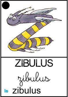 Le zibulus School, Kids, Fictional Characters, Learning The Alphabet, Young Children, Boys, Children, Fantasy Characters, Children's Comics