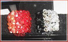 +FRETE  lindos anéis em degrade,  produzido com cristais imitação Swarovski R$ 10,00