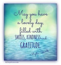 Morning peeps!   May you have a lovely day filled with smiles, kindness and gratitude.   Don't forget to be accountable today! www.recoveryboxapp.com