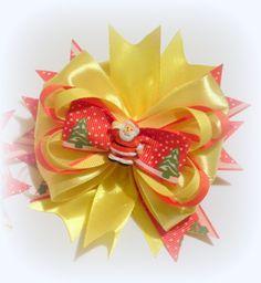 Рождественский американский бантик из лент Здравствуйте, дорогие зрители! Сегодня мы с вами будем делать рождественский американский бантик из лент. Вначале ...