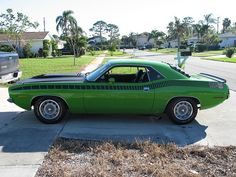 Frank's 1970 AAR Cuda.     nice Baracuda photo found on the web