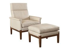 8501-26 Anderson Variable Pitch Chair and 8501-29 Anderson Ottoman