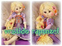 empezamos la rapunzel , FALDA 1/4, manualilolis video- 214 - YouTube