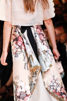 Fendi Spring 2017 Ready-to-Wear collection by Silvia Venturini Fendi and Karl Lagerfeld