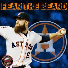 "Carlos Beltran Houston Astros /""Fear The Beard/"" T-shirt Shirt or Long Sleeve"