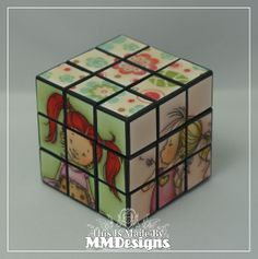 Mo Manning Rubik's Cube and Box.