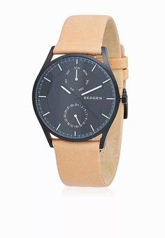 Shop Skagen browns Holst Watch for Men in Saudi